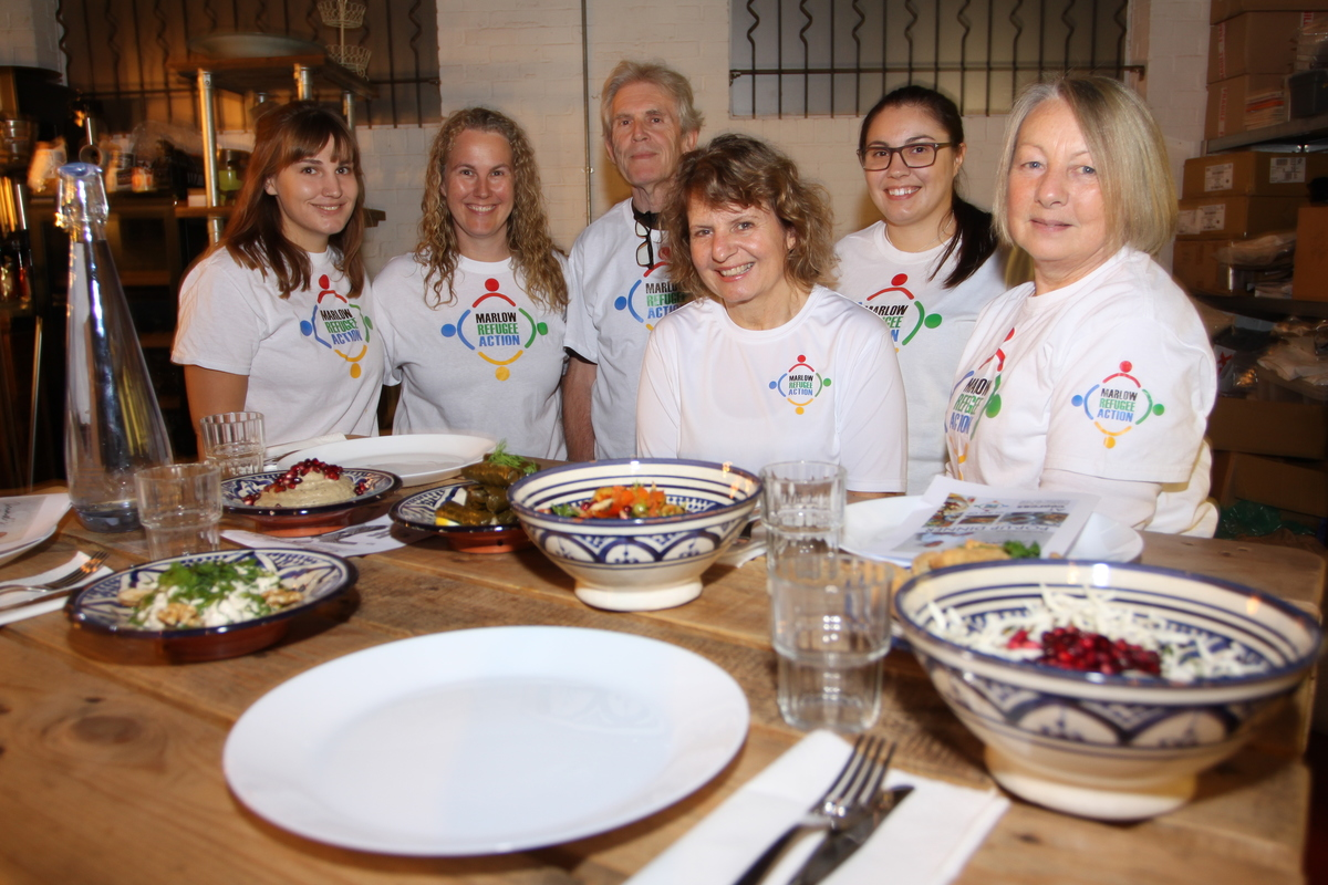 MRAG team at pop-up dinner